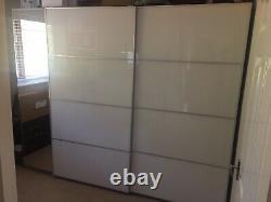 Triple Grand Ikea Armoires Et Miroir Portes Coulissantes
