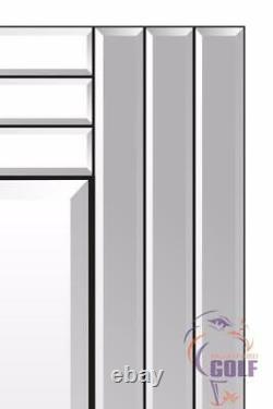 Turino Full Length All Mirror Glass Leaner Wall Mirror 5ft9 X 2ft9 174cm X 85cm