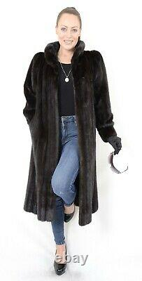 Us2274 Belle Saga Mink Fur Coat Femme Taille L Skins Nerzmantel Pelliccia