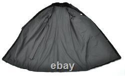 Us2693 Fantastic Mink Fur Coat Veste Pleine Longueur Taille Féminine L Nerzmantel