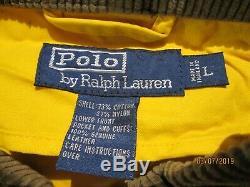 Vtg Polo Ralph Lauren Pompier Manteau Veste À Bascule L Qualité